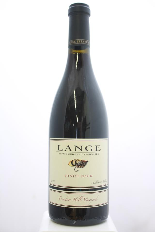 Lange Pinot Noir Freedom Hill Vineyard 2010