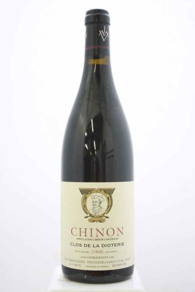Charles Joguet Chinon Clos de la Dioterie 2006