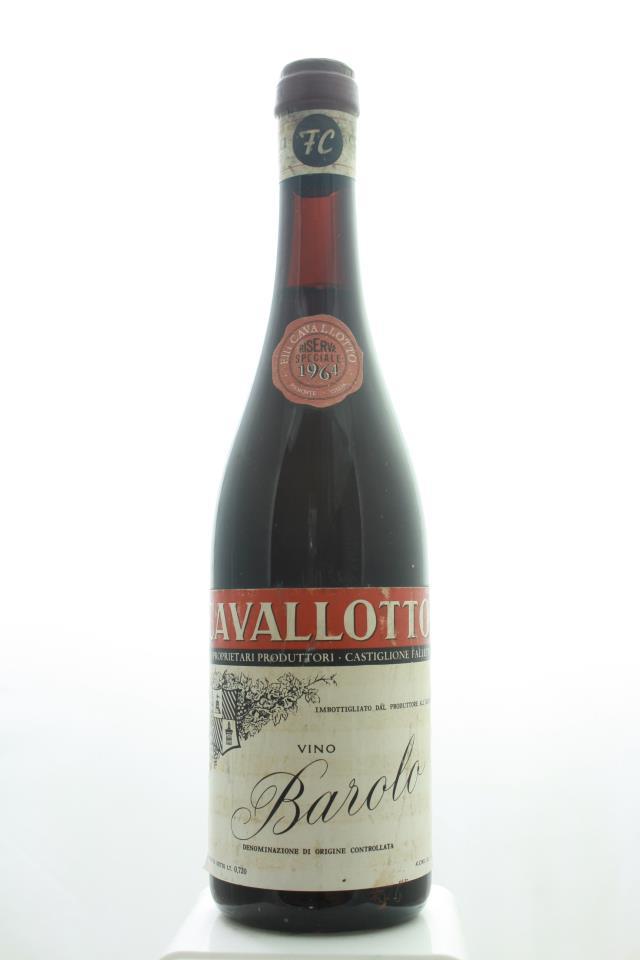 Cavallotto Barolo Riserva Speciale 1964