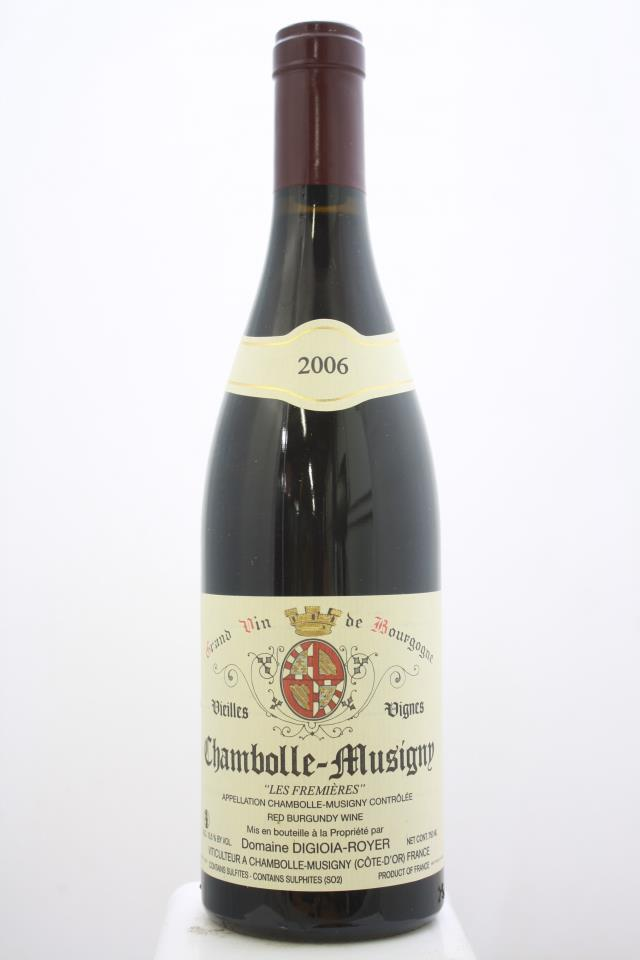 Digioia-Royer Chambolle-Musigny Les Fremiéres Vieilles Vignes 2006