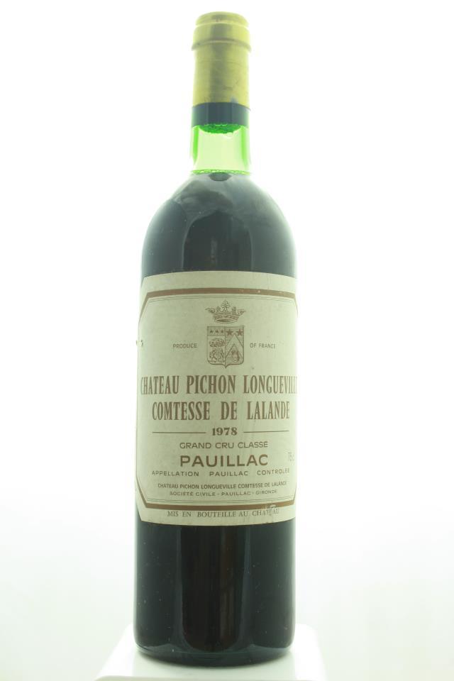 Pichon-Longueville Comtesse de Lalande 1978