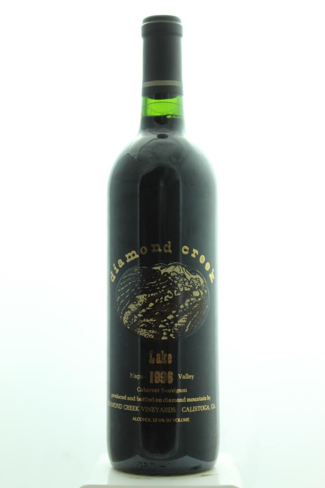 Diamond Creek Cabernet Sauvignon Lake Vineyard 1996