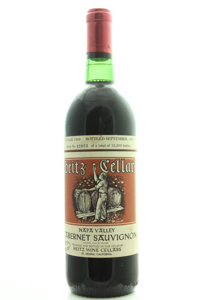 Heitz Cellar Cabernet Sauvignon Martha's Vineyard 1969