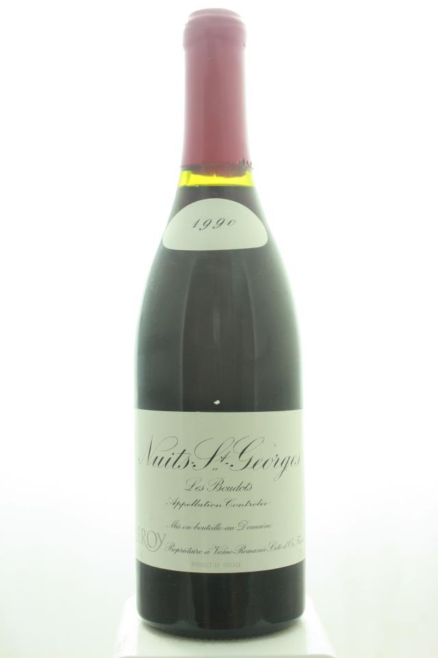 Domaine Leroy Nuits-Saint-Georges Les Boudots 1990