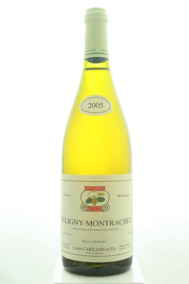 Louis Carillon Puligny-Montrachet 2005