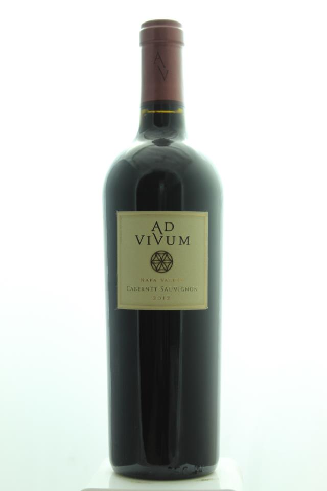 Ad Vivum Cellars Cabernet Sauvignon Sleeping Lady Vineyard 2012