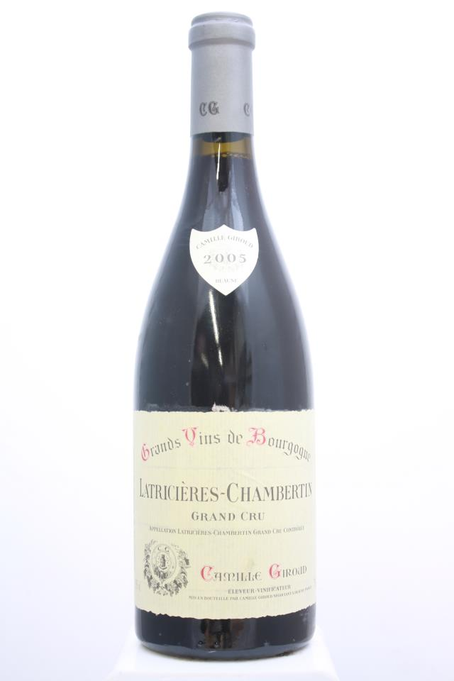 Camille Giroud Latricières-Chambertin 2005