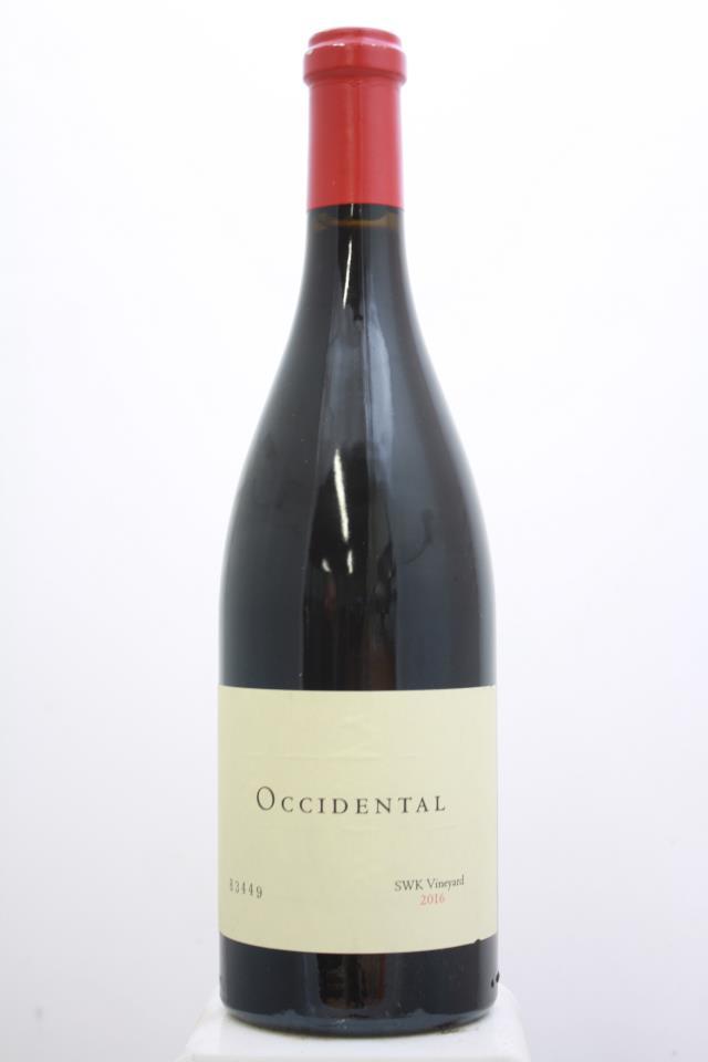 Occidental Pinot Noir Estate SWK Vineyard 2016