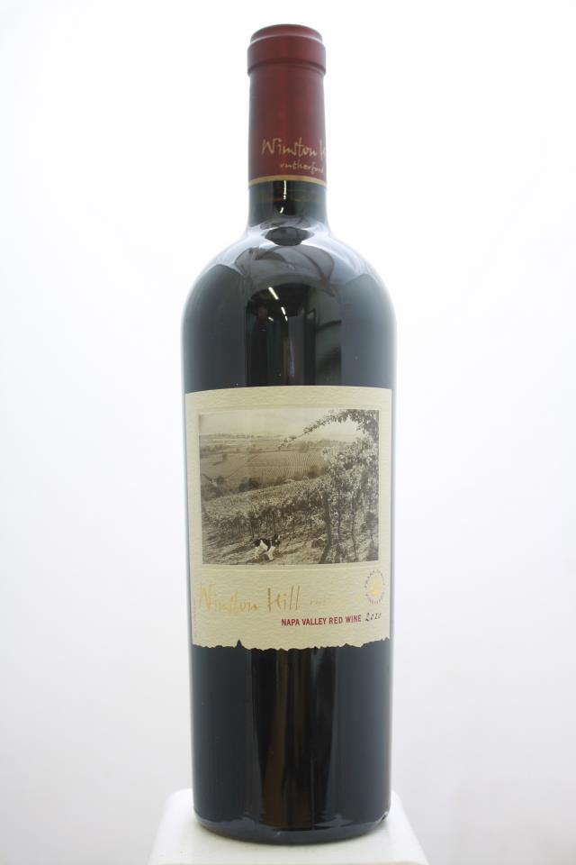 Winston Hill Vineyards Proprietary Red 2010