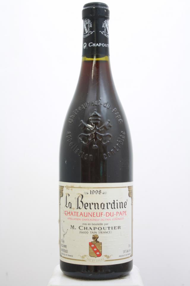 M. Chapoutier Châteauneuf-du-Pape La Bernardine 1998