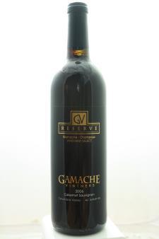 Gamache Cabernet Sauvignon Gamache-Champoux Vineyard Select Reserve 2006