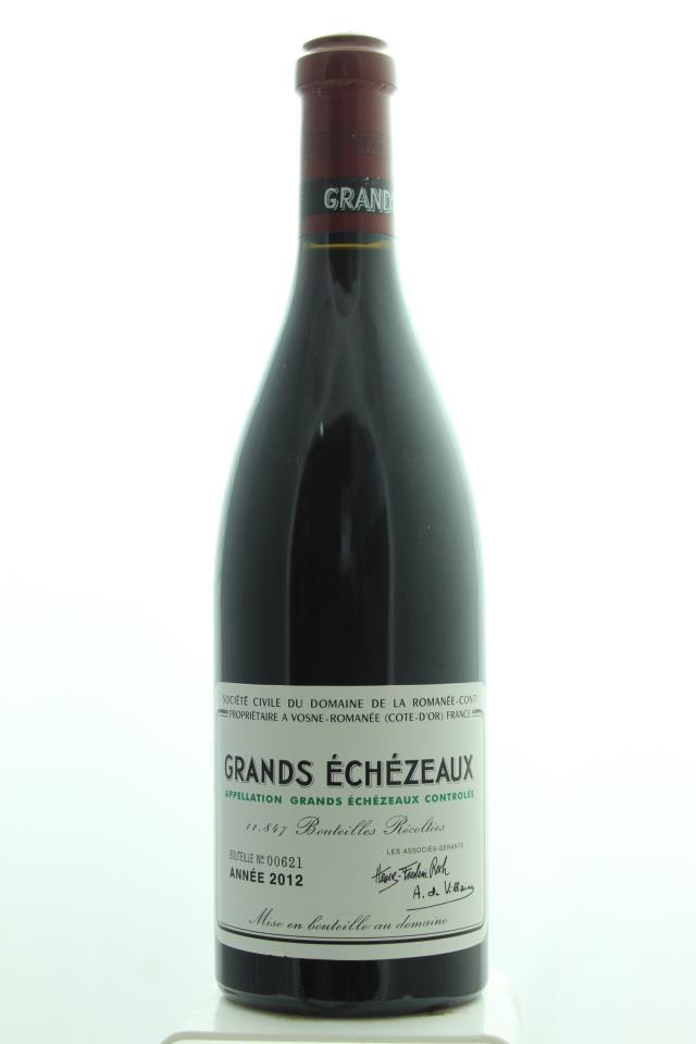 Domaine de la Romanée-Conti Grands Echézeaux 2012