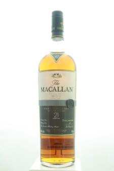 The Macallan Triple Cask Matured Fine Oak Highland Single Malt Scotch Whisky 21-Years-Old NV