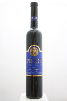 Pride Mountain Vineyards Sangiovese 2001