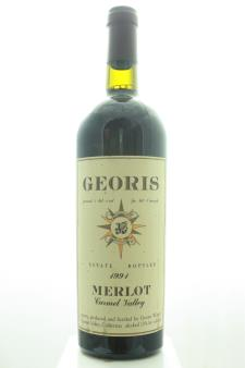 Georis Merlot 1991