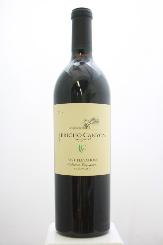 Jericho Canyon Vineyards Cabernet Sauvignon East Elevation 2015