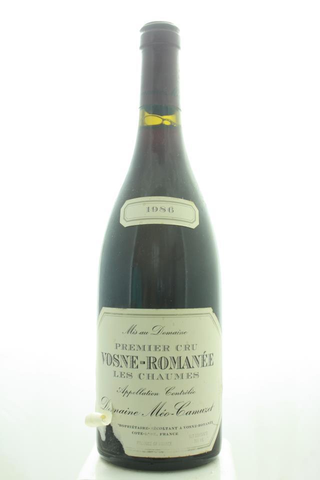 Domaine Méo-Camuzet Vosne-Romanée Les Chaumes 1986