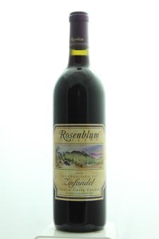 Rosenblum Cellars Zinfandel 1998
