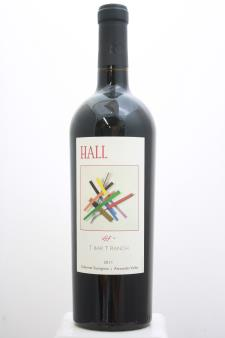 Hall Cabernet Sauvignon T Bar T Ranch 2011