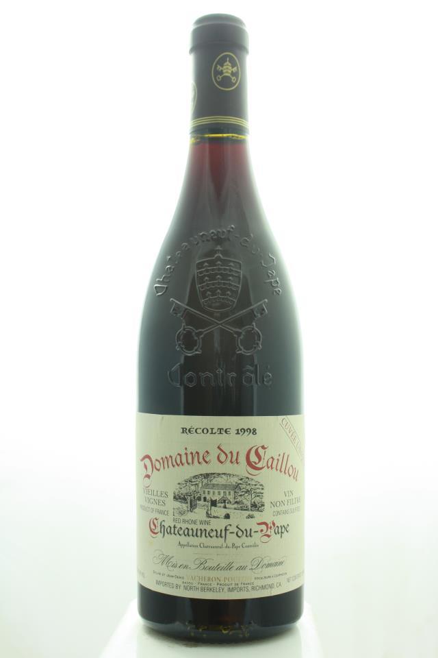 Domaine du Caillou Châteauneuf-du-Pape Cuvée Unique Reserve Vieilles Vignes 1998