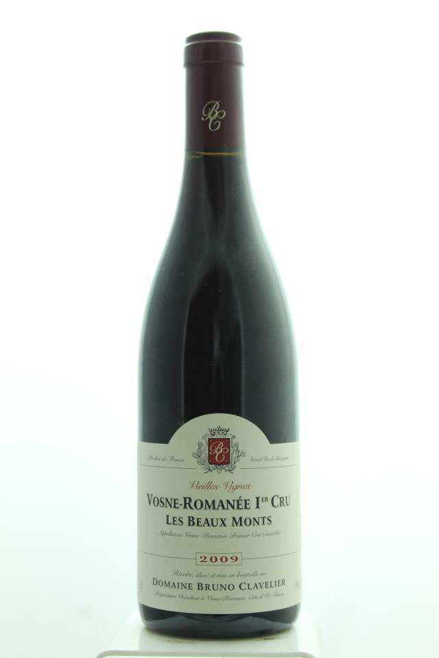 Bruno Clavelier Vosne-Romanée Les Beaux Monts Vieilles Vignes 2009