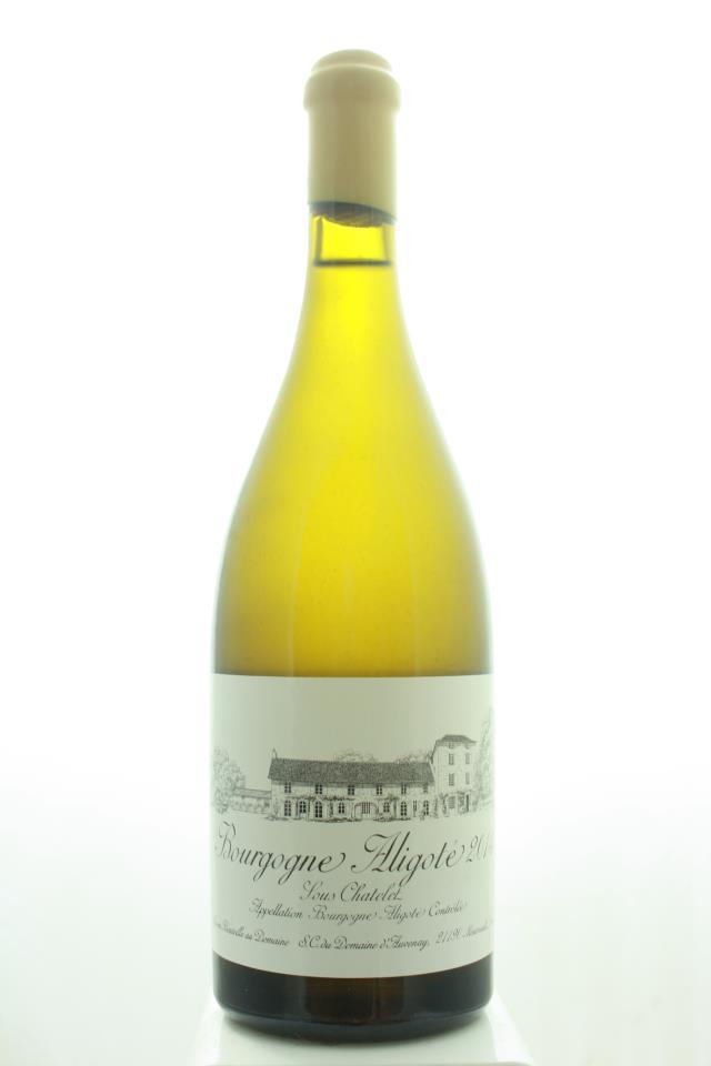 Domaine d'Auvenay Bourgogne Aligoté Sous Chatelet 2014