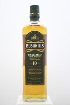 Bushmills Single Malt Irish Whiskey 10 Year NV