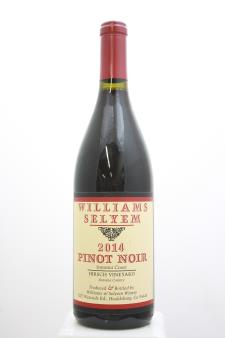 Williams Selyem Pinot Noir Hirsch Vineyard 2014