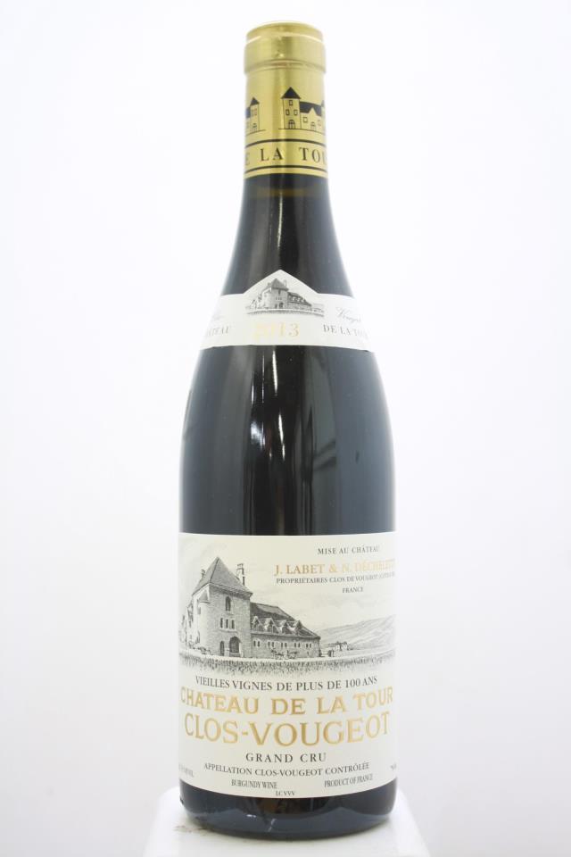 Château de La Tour Clos de Vougeot Vieilles Vignes de Plus de 100 Ans 2013