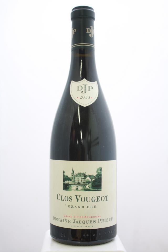 Jacques Prieur Clos de Vougeot 2010