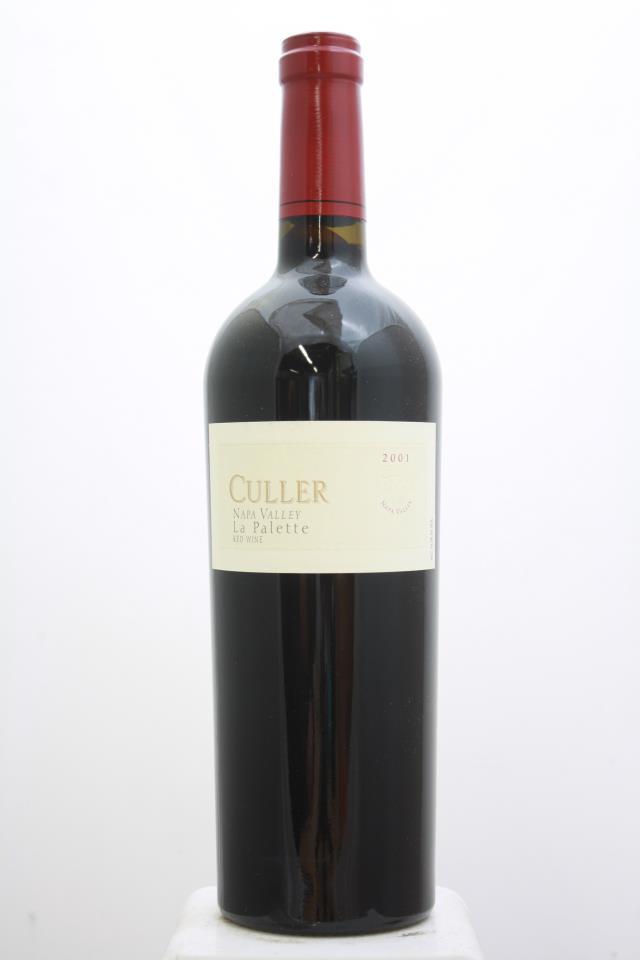 Culler Cabernet Sauvignon La Palette 2001