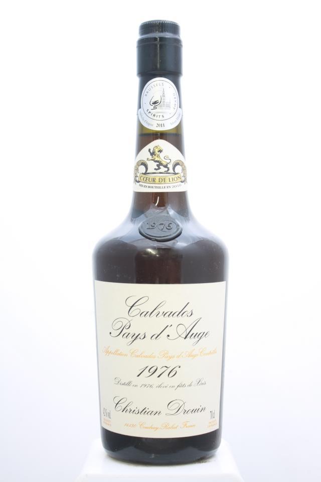 Christian Drouin Calvados Pays d'Auge 1976