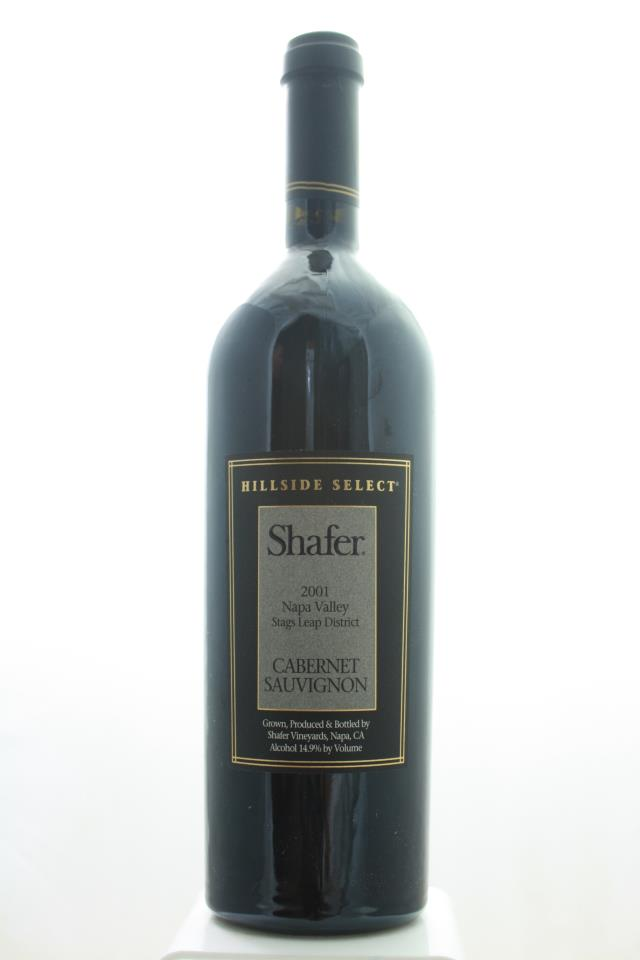 Shafer Cabernet Sauvignon Hillside Select 2001