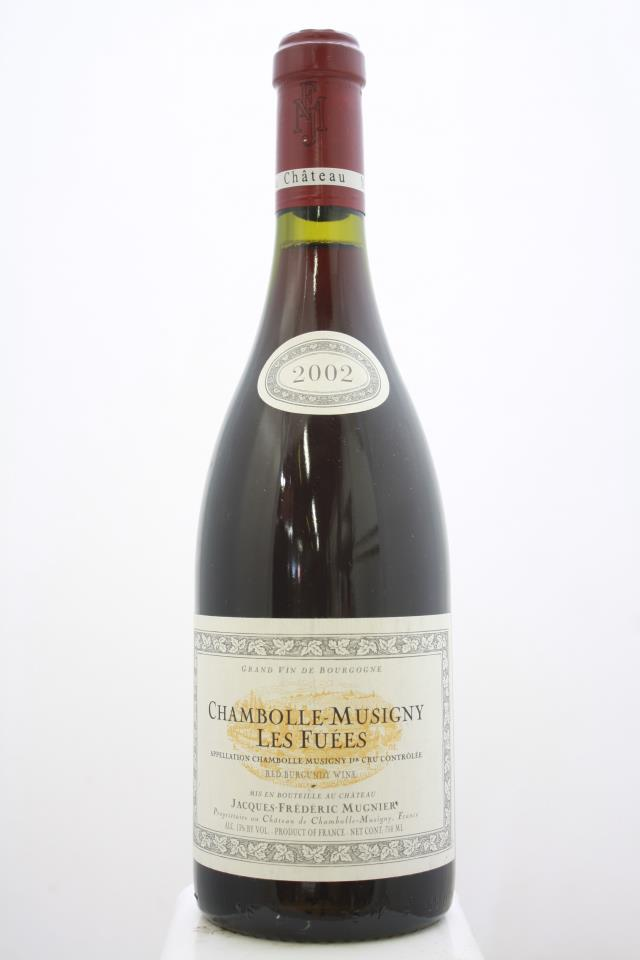 Jacques-Frédéric Mugnier Chambolle-Musigny Les Fuees 2002