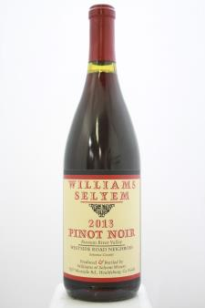 Williams Selyem Pinot Noir Westside Road Neighbors 2013