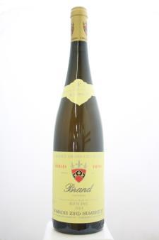 Zind Humbrecht Riesling Brand Turckheim Vieilles Vignes 2010