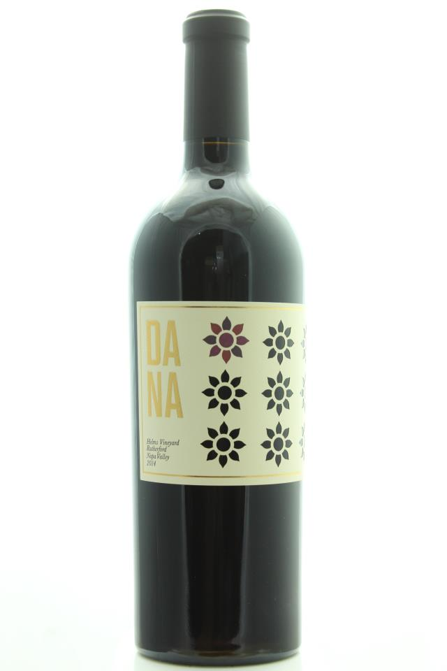 Dana Estates Cabernet Sauvignon Helms Vineyard 2014
