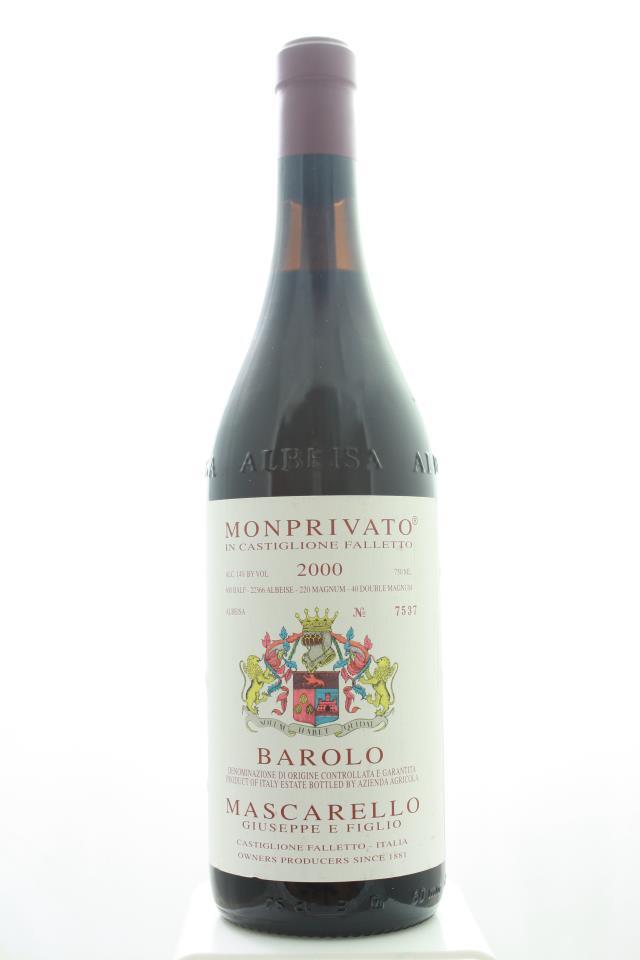 Giuseppe Mascarello Barolo Monprivato 2000