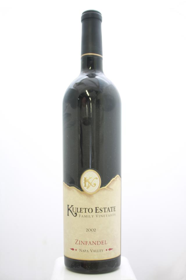 Kuleto Estate Zinfandel Napa Valley 2002