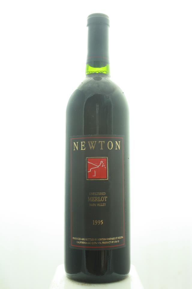 Newton Vineyard Merlot Unfiltered 1995