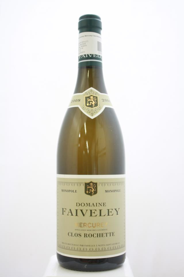 Domaine Faiveley Mercurey Clos Rochette Blanc 2008