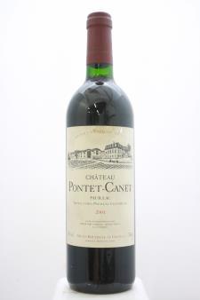 Pontet-Canet 2001