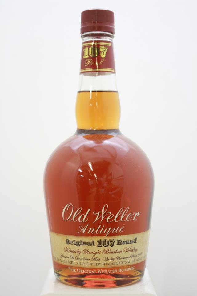 Old Weller Kentucky Straight Bourbon Whiskey Antique Original 107 Brand NV