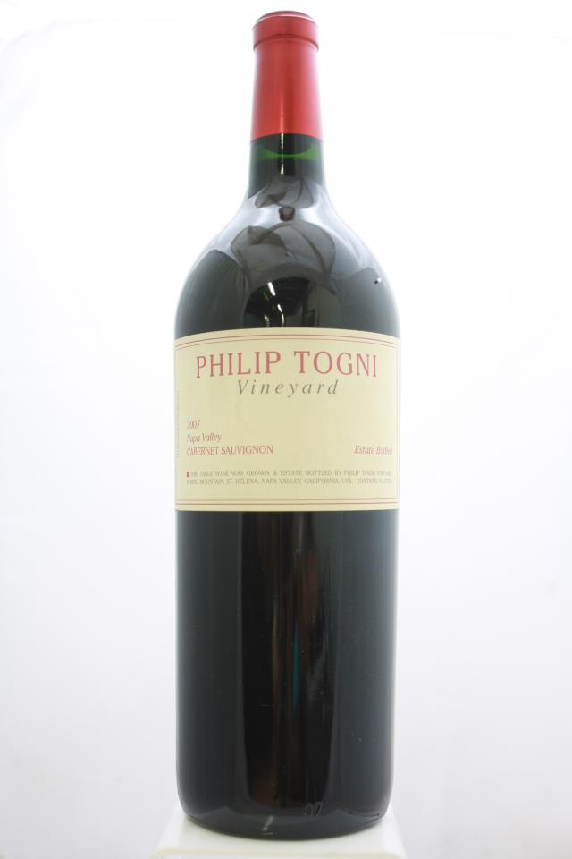 Philip Togni Vineyard Cabernet Sauvignon Estate 2007