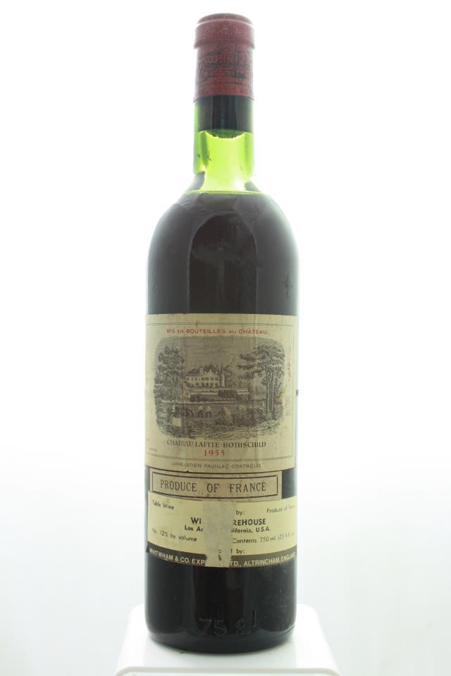 Lafite Rothschild 1955