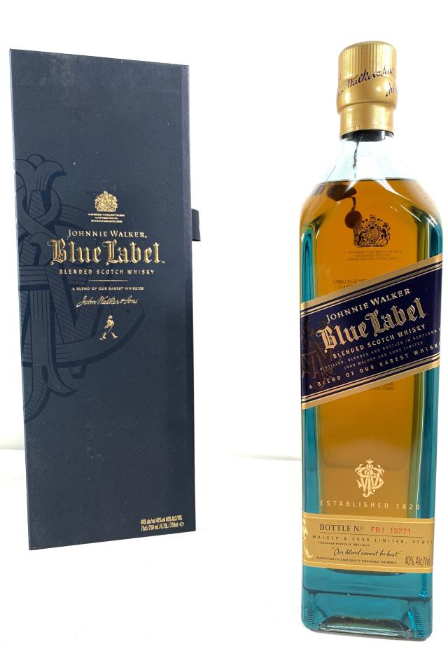Johnnie Walker Blended Scotch Whisky Blue Label NV