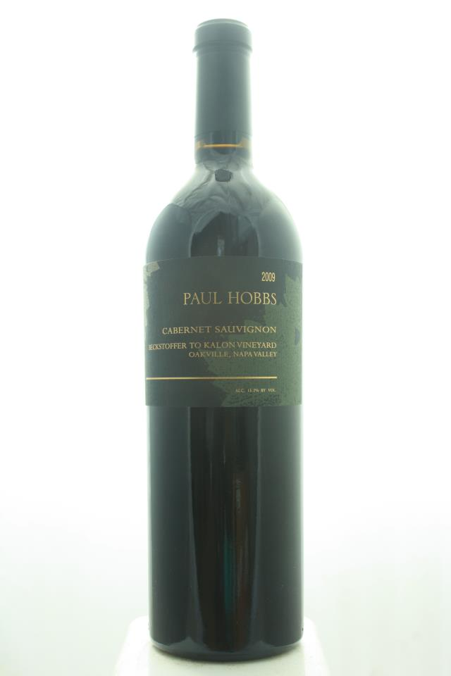 Paul Hobbs Cabernet Sauvignon Beckstoffer To Kalon Vineyard 2009