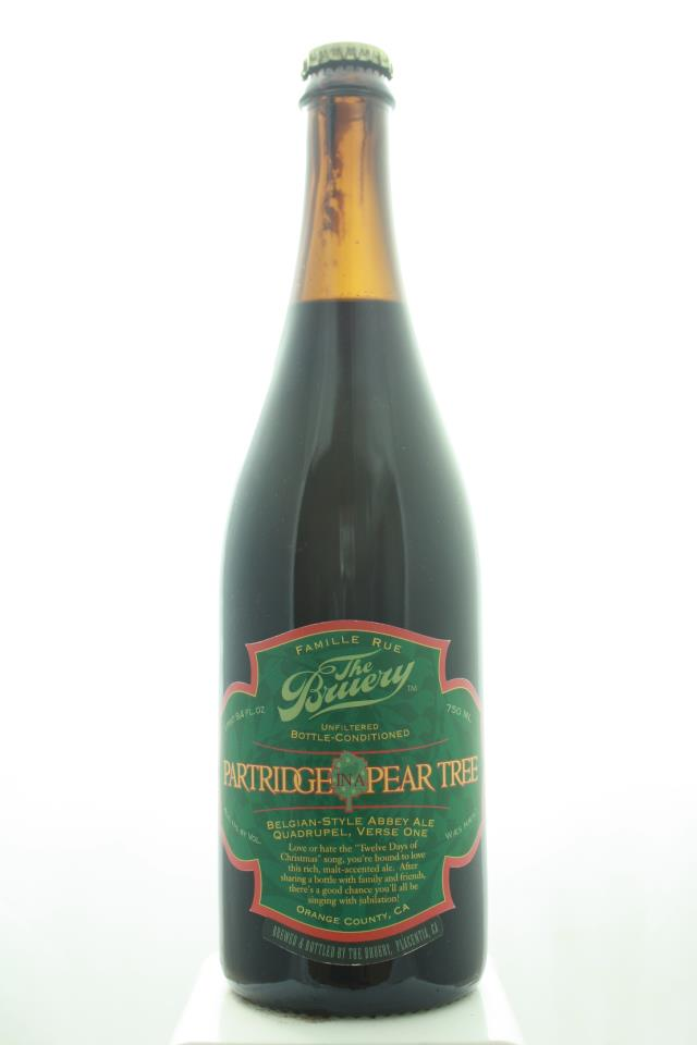 The Bruery Partridge in a Pear Tree Belgian-Style Abbey Ale Quadrupel, Verse One 2008