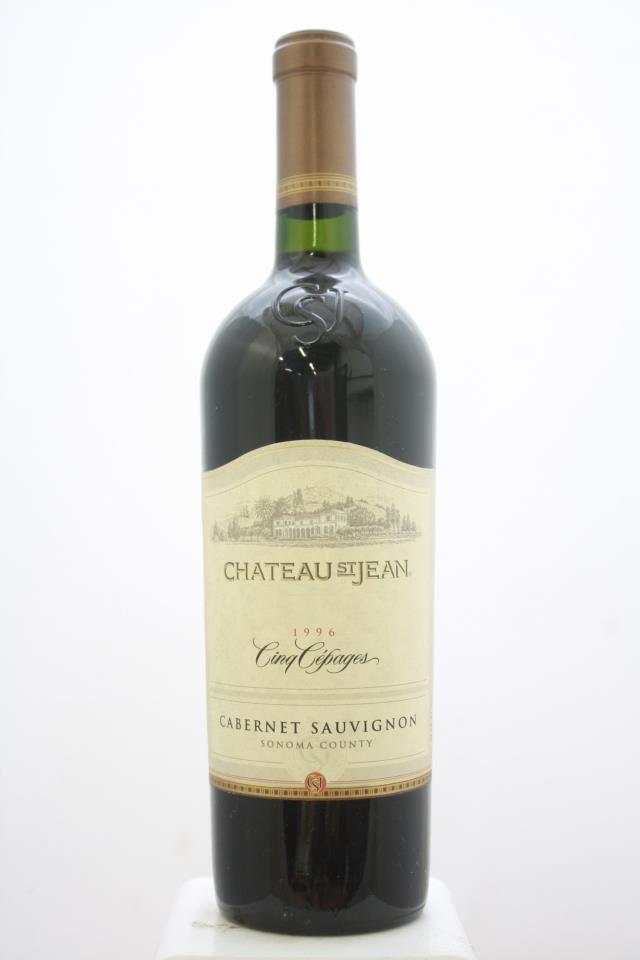 Chateau St. Jean Cabernet Sauvignon Cinq Cepages 1996
