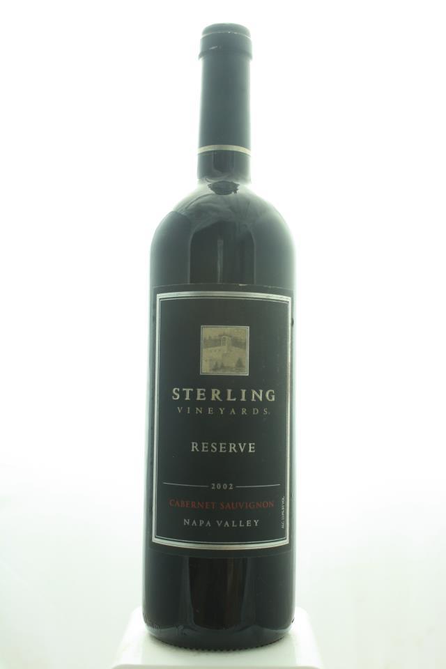 Sterling Vineyards Cabernet Sauvignon Napa Valley Reserve 2002